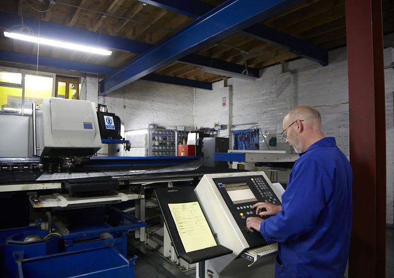 Ritherdon - Operating the TRUMPF Machine