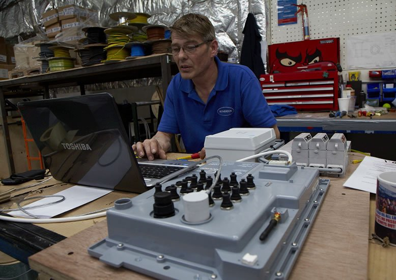 Ritherdon - testing Metering Panel