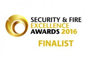 Security & Fire Excellence Awards Finalist 2016