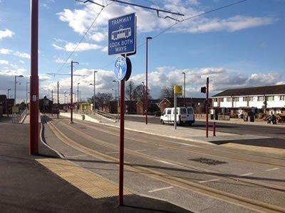 Manchester Tram System