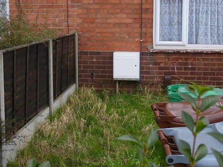 damaged meter box repaired meter box