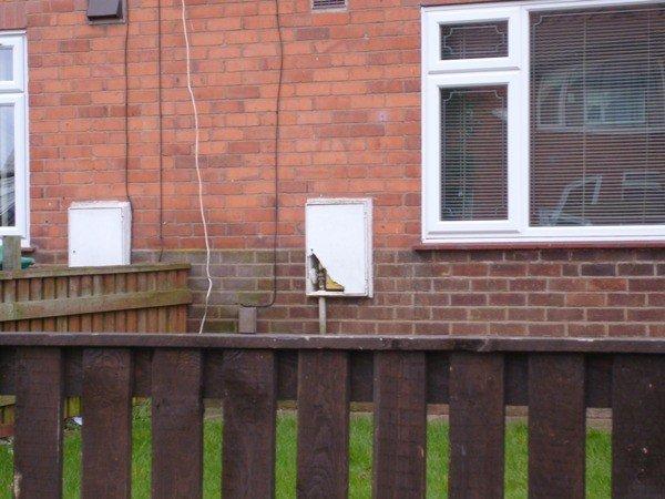 Meter box repair at Nottingham City Homes - Durable Maintenance