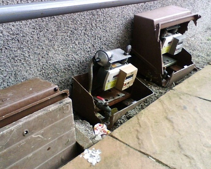 who is responsible for repairing the meter box?