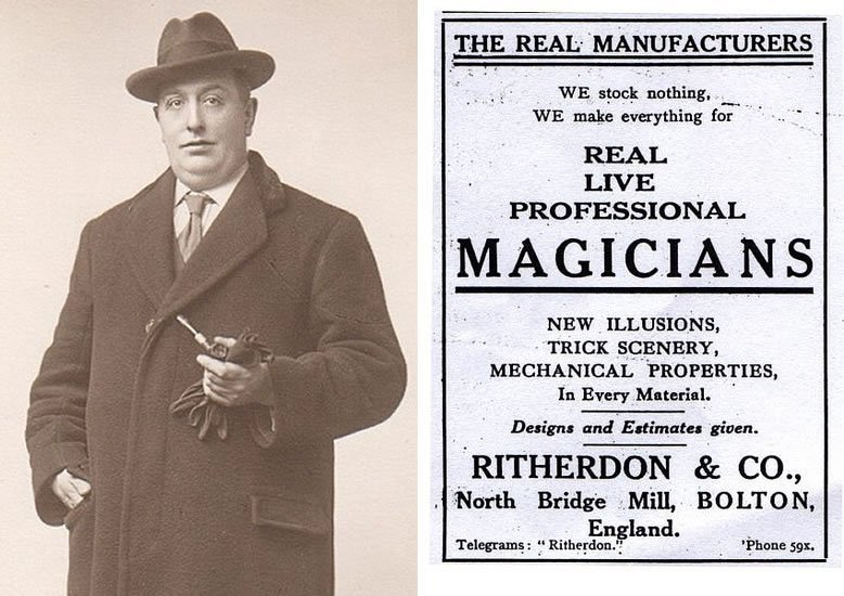 Percy Ritherdon - Advert