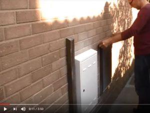 Repair meter box