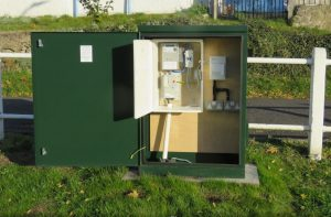 RB800 used for electrical connection for a village green