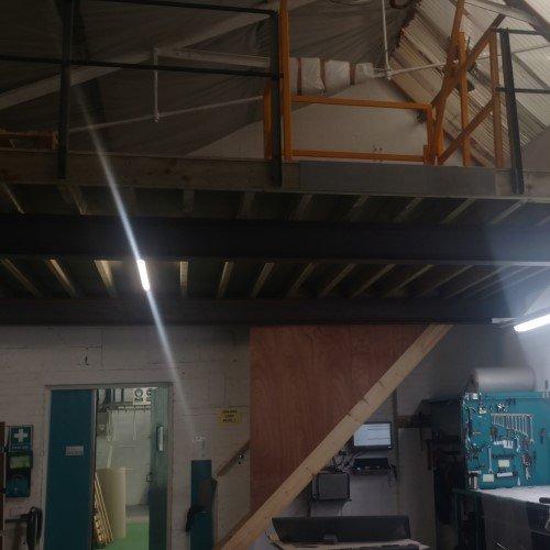 New Mezzanine Floor Ritherdon Assembly Shop Floor