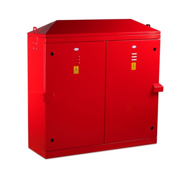 TBS60 Temporary Builders Supply Cabinet - TBS60 Cabinet in Red