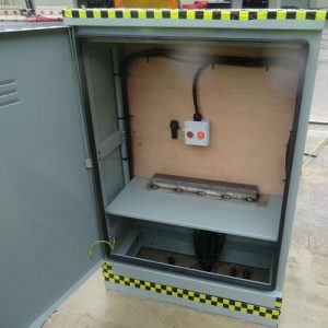Ritherdon Passively Safe Cabinet -Crash Friendly Roadside Cabinet