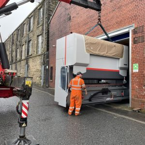 New investment at Ritherdon - Precision bending- Tight squeeze into the factory