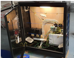 In-house testing of Ritherdon Cabinet Thermodynamics